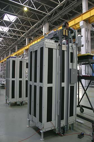 Новый завод по выпуску лифтов