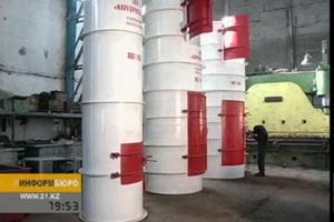 Карагандинские ученые презентовали 3 уникальных пневмолифта. Сделаны они на местном машиностроительном заводе