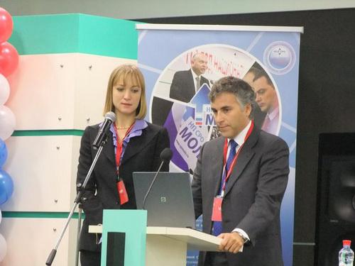 Живой интерес вызвало выступление управляющего финансами Европейской ассоциации производителей лифтовых комплектующих ELCA Эммануэле Эмилиани