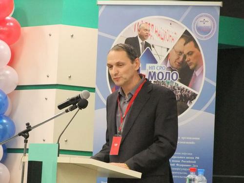После перерыва прозвучало выступление представителя Росстандарта С.Н. Самохина, который отметил огромную роль НП «РЛО»
