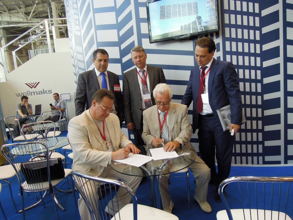 Подписали соглашение президент НП «РЛО» Макс Ваксман и президент НП «СРО «МОЛП» Олег Никандров