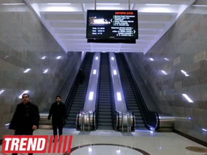 На новых станциях Бакинского метрополитена увеличится число эскалаторов и появятся лифты