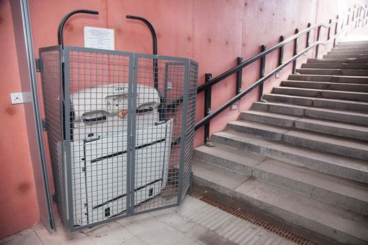 Ласнамяэский туннель за полмиллиона евро: лифт закрыт, но на самом деле открыт