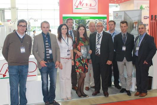С делегацией итальянской лифтовой ассоциации ANICA