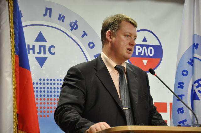 Генеральный директор АДС «СО «Лифтсервис» Алексей Захаров
