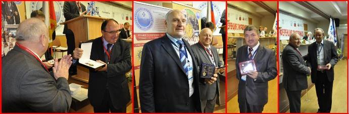 В 2013 году ряд заслуженных деятелей лифтового хозяйства был награжден