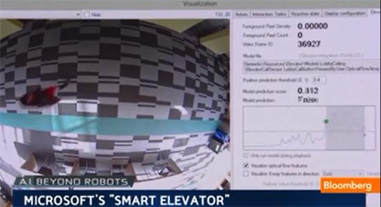 Microsoft показала лифт с искусственным интеллектом