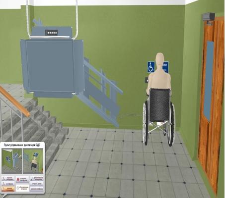 190 подъемных платформ для инвалидов будут установлены в Москве в 2014 году