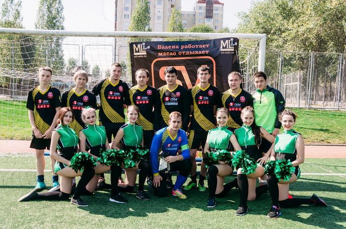 Оренбургские лифтовики - чемпионы Оренбургской Ночной Футбольной Лиги