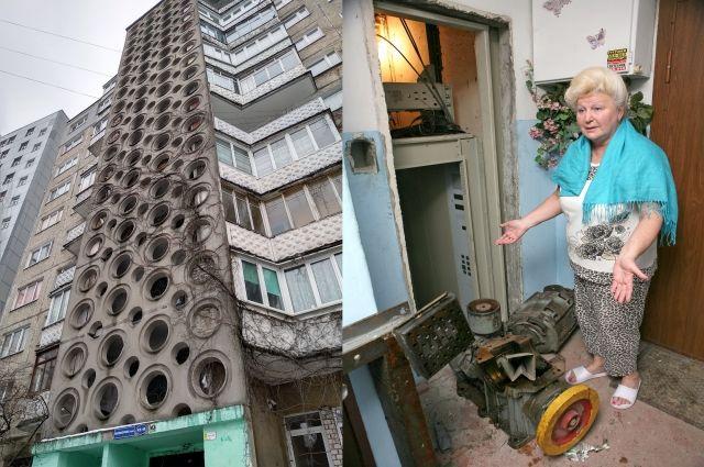 Разобрали и пропали... В Калининградской области сорвана программа по замене лифтов