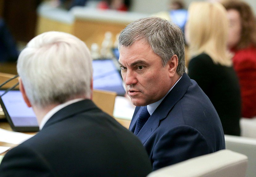 Вячеслав Володин: ГД вводит ответственность эксплуатирующих организаций и должностных лиц за нарушение правил эксплуатации лифтов