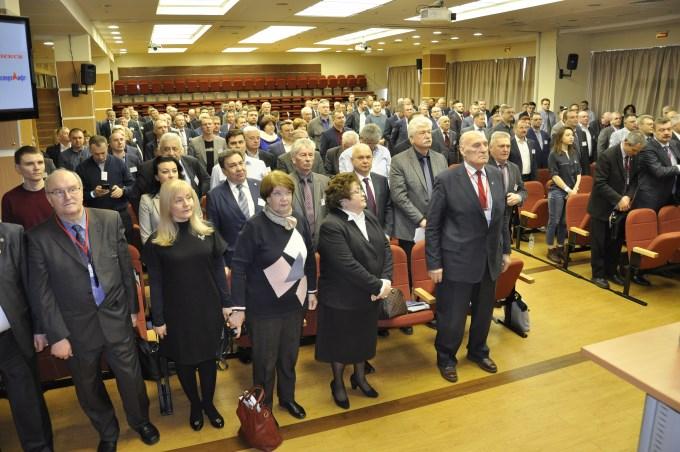 2 апреля в конференц-зале «Москва» ТГК «Измайлово» состоялось пленарное заседание IX Всероссийского Съезда работников лифтового комплекса