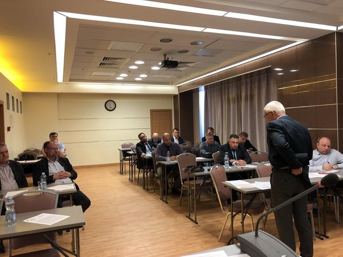 24 апреля 2019 г. состоялось совещание представителей членов «Российского лифтового объединения»  по вопросу критериев производства лебедок