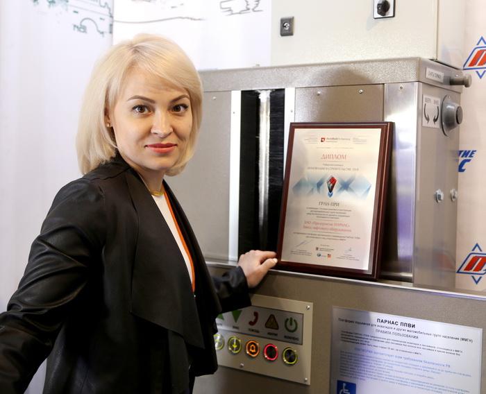 Ольга Егоренко: Предприятие ПАРНАС готово производить до 1000 малых грузовых лифтов в год