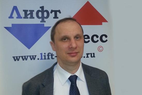 Руководитель проекта «Лифт Экспо Россия 2013» Станислав Веселицкий