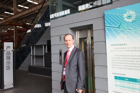 Станислав Веселицкий «Лифт Экспо Россия - эффективный инструмент для развития вашего бизнеса»