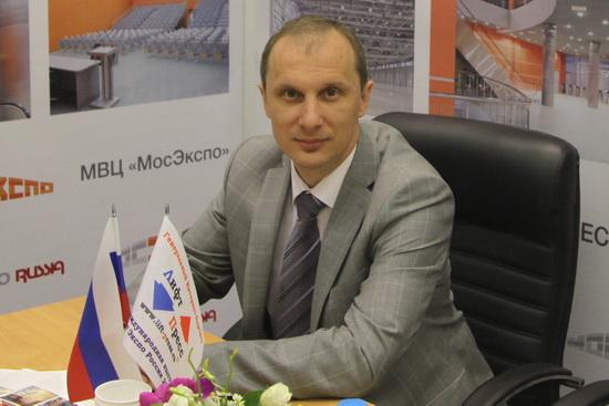 Представитель МВЦ «МосЭкспо» Станислав Веселицкий