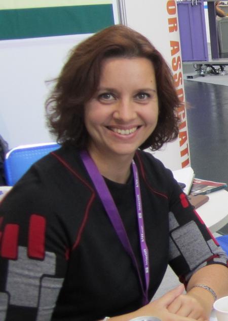 Представитель МВЦ «МосЭкспо» Евгения Филиппова