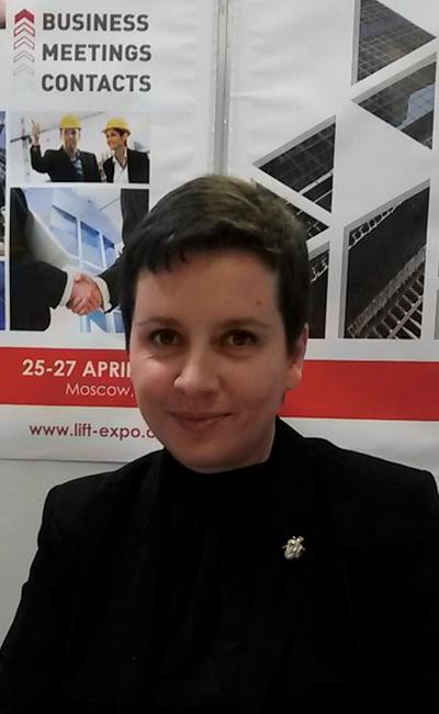 Евгения Филиппова, менеджер проекта Московской международной выставки ЛИФТ