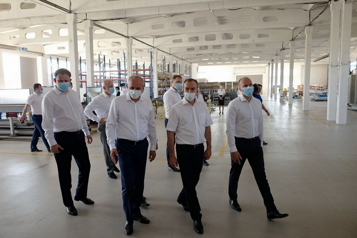В Краснодарском крае завершен первый этап строительства лифтостроительного завода