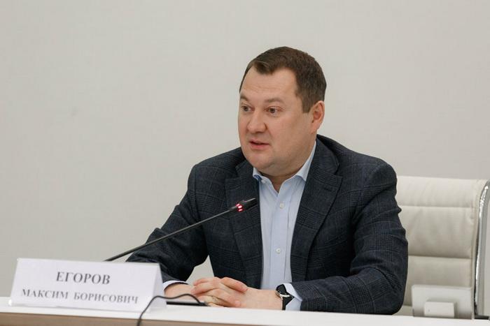Егоров Максим Борисович, Заместитель Министра строительства и жилищно-коммунального хозяйства Российской Федерации