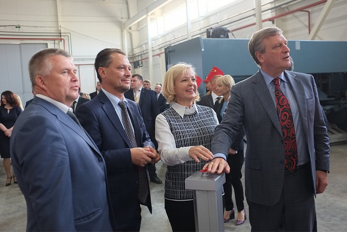 Врио Губернатора Кировской области Игорь Васильев в рамках рабочей поездки посетил промышленный парк в г. Вятские Поляны