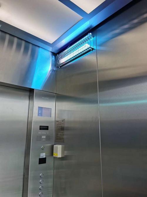 Пример оборудование для стерилизации кабины лифта китайского производства
