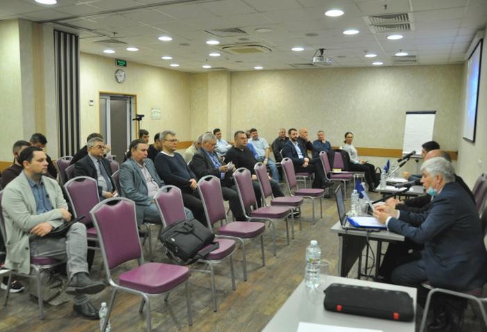 В рамках XI Всероссийского съезда работников лифтового комплекса состоялось Общее собрании членов СРО «Русьэкспертлифт»